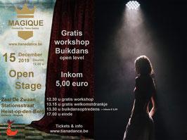 Inkomticket Magique Open Stage - Bellydance Happening