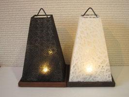 【予約】和紙の行灯(電池式LEDランプ)