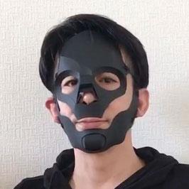 骸骨面の黒