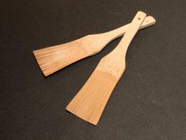 おろし金やすり鉢の友、竹のハケ