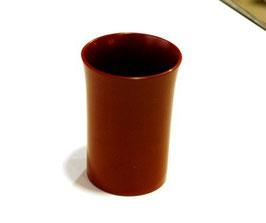 赤の塗立カップ