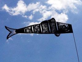 ブラック鯉のぼり L=60cm