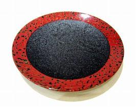 6寸皿の赤