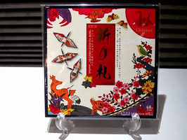 折り鶴専用 折り紙(花札柄