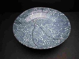 メキシコ貝の深7寸皿