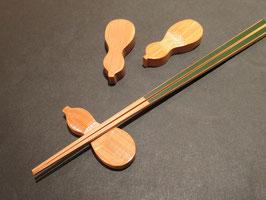 竹の瓢箪箸置き