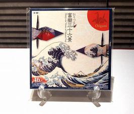 折り鶴専用 折り紙(富嶽三十六景