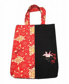 トートバッグ~折り鶴