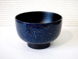 青い唐塗の大椀