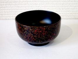 【予約】黒い唐塗のお椀