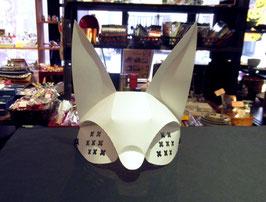 目元マスク、獣牙+(プラス)の白
