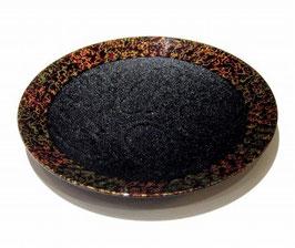 6寸皿の黒