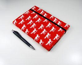 Kalender DIN A5: Fuchs auf Rot