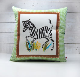 """Kissen """" Zebra """""""