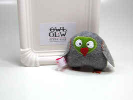 Olaw, kleine Eule - in Grau