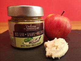 Apfel /Kren Senf
