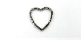3 Schlüsselringe Herz
