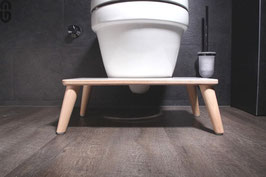 "Toilettenhocker ""Kackhocker"" im Skandi-Look 