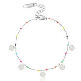 Armband Rainbow Coin