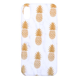 iPhone X pineapple gold