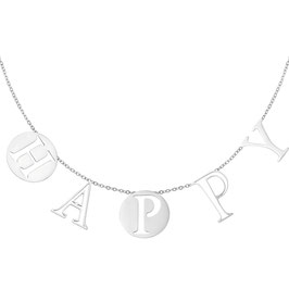 Ketting Letters Happy