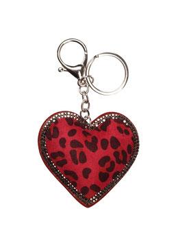 Sleutelhanger leopard love