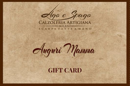 Digital Gift Card - Auguri Mamma