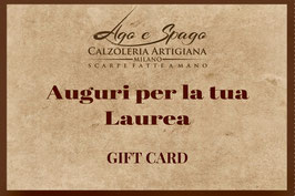 Digital Gift Card - Auguri per la tua Laurea