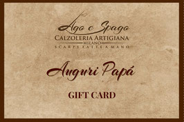 Digital Gift Card - Auguri Papà