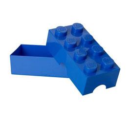 Lego brooddoos blauw met naam