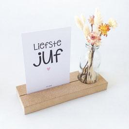 """Memory shelf """"Liefste juf"""""""