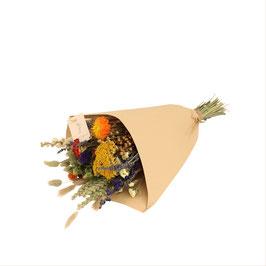 Veldboeket droogbloemen medium