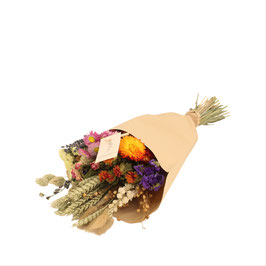 Wildboeket droogbloemen medium
