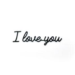 Muurstickers: I love you/ #love