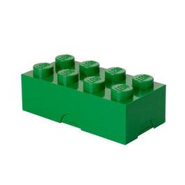 Lego brooddoos groen met naam
