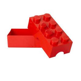 Lego brooddoos rood met naam