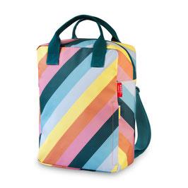Rugzak large stripe rainbow