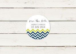 Save the date | Magnet | Stripes | No 1
