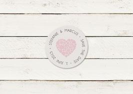Save the date | Magnet | Herzen | No 5