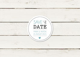 Save the date | Magnet | Typografie | No 2