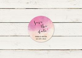 Save the date | Magnet | Aquarell Look