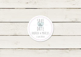 Save the date | Magnet | Typografie | No 4