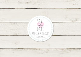 Save the date | Magnet | Typografie | No 3