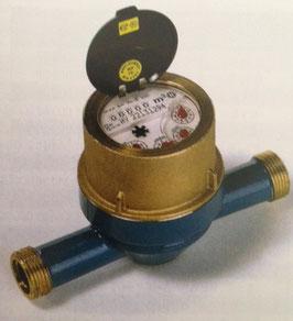 Wasserzähler - Hauswasserzähler - Mehrstrahl-Flügelrad-Messkapsel - Qn 2,5
