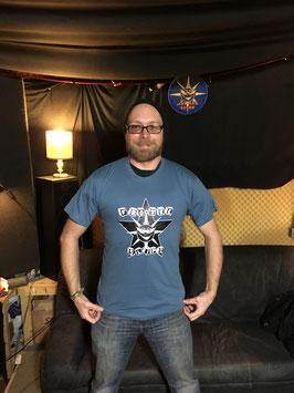 Shirt Blau Größe S