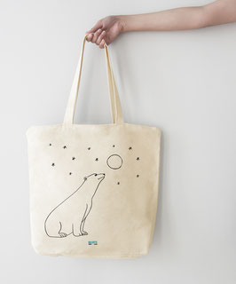 Tote bag Ours Polaire