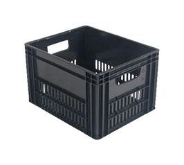 Milk Crate Schwarz für Frontgepäckträger