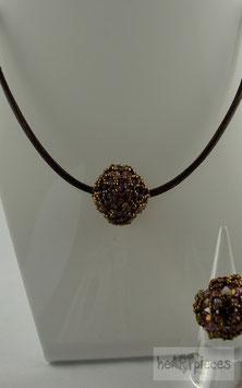 """Halskette mit geperlter Perle """"Stargazer"""""""