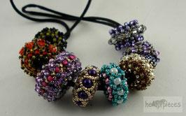 """geperlte Perlen """"Satlites"""" und """"Sabine Rings"""""""