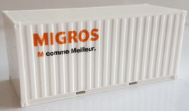 20 ft. Container MIGROS